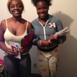 Jada Francis and her mother Sharon