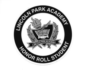 The Lincoln Park Academy Honor Roll Badge