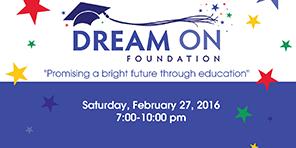 Dream On Foundation Fundraiser February 27, 2016