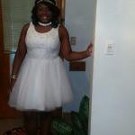 Jada Francis attends Pinnacle Academy 8th Grade Prom