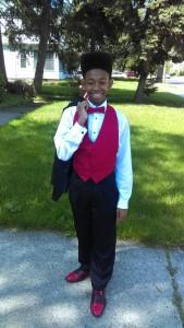 Jordan Bennett attends Horizon Science Academy 8th Grade Prom