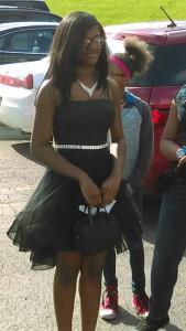 Nyandia Ballah attends Horizon Science Academy 8th Grade Prom